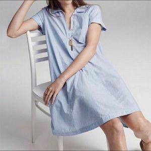 Madewell short sleeve swing dress medium